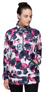 Lululemon Miss Misty Pullover Jacket Inky Floral With Stow And Go Hood