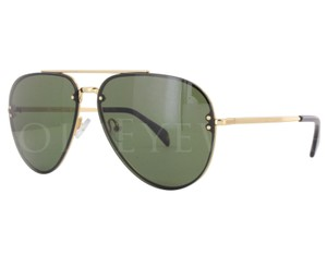 Cline Celine CL41391/S-0J5G1E 60mm Gold Green Sunglasses