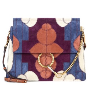 Chloé Faye Suede Calfskin Shoulder Bag