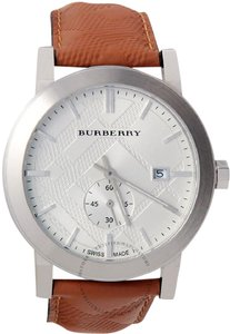 Burberry City Leather Watch