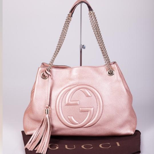 20c90c8cb0ab21 Vintage Pink Soho Gucci Hobo Bag | Stanford Center for Opportunity ...