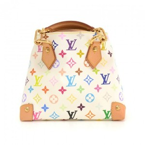 Louis Vuitton Handbag Audra Multicolor Monogram Canvas Hobo Bag