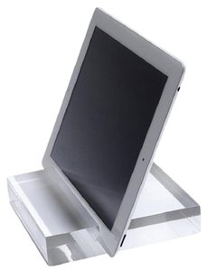 MAXAMILAN Maxamilan Sculpted Acrylic Tablet Stand for iPad Kindle Galaxy