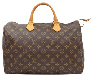 Louis Vuitton Handbag Monogram Canvas Speedy Hobo Bag