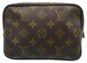 Louis Vuitton RARE* monogram vintage trousse 18 small pouch pochette