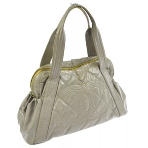 Chanel Satchel in Mathis Gray