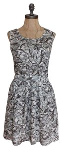 Miss Selfridge short dress Multi Crisscross Strap Printed 8 Euro 38 on Tradesy