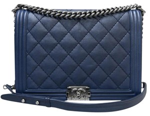 Chanel Large Le Boy Boy Shoulder Bag