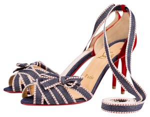 Christian Louboutin Christeriva 85mm Denim Sandals