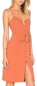 Lovers + Friends short dress Orange on Tradesy