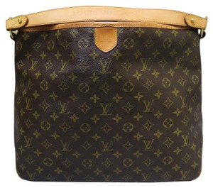 Louis Vuitton Lv Delightfull Canvas Mm Hobo Bag
