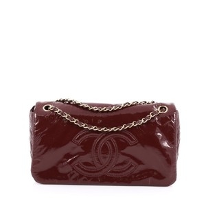 Chanel Rock And Chain Patent Shoulder Bag