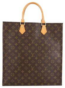 Louis Vuitton Sac Plat Canvas Tote