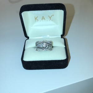 Kay Jewelers Engagement Ring & Wedding Band