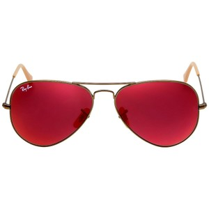 Ray-Ban Ray-Ban Aviator Flash Red Mirror 58 mm Sunglasses RB3025 167/2K