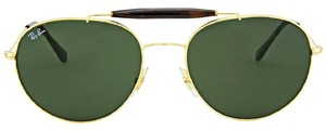 Ray-Ban Ray Ban Round Green Classic G-15 Sunglasses RB3540-001-56