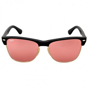 Ray-Ban Ray-Ban Clubmaster Oversize Pink Mirror Sunglasses