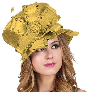 kentucky derby hat Formal Kentucky Derby Dressy Lined Floral Laced Lady's Hat