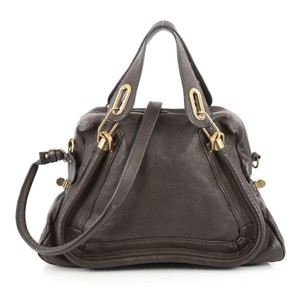 Chloé Chloe Leather Satchel in Brown