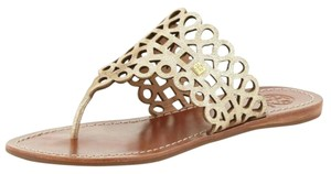 Tory Burch Platinum Sandals