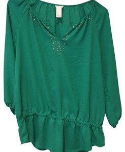 Chico's Top Green