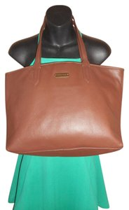 Cole Haan Leather Tote in Brown