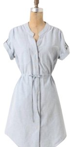 Anthropologie short dress Chambray on Tradesy