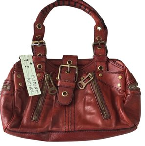 Clements Ribeiro Satchel in burgundy