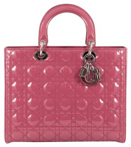 Dior Patent Tote in Pink
