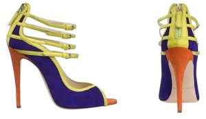 Brian Atwood Purple Sandals