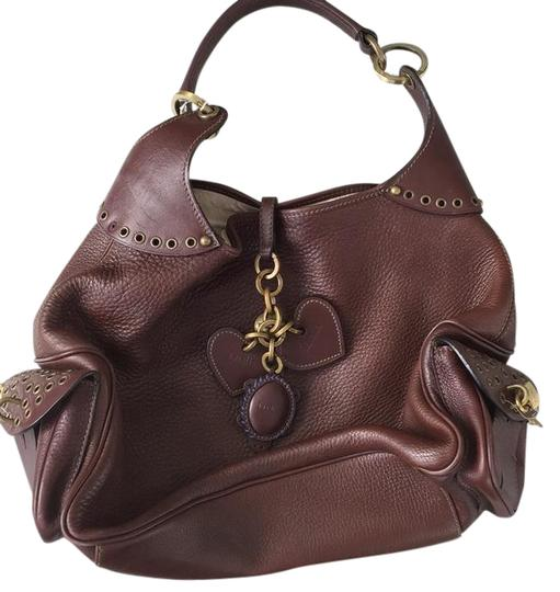 Preload https://img-static.tradesy.com/item/21210483/luella-brown-leather-satchel-0-1-540-540.jpg