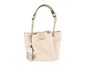 Tod's Leather Womens Chains Shoulder Bag