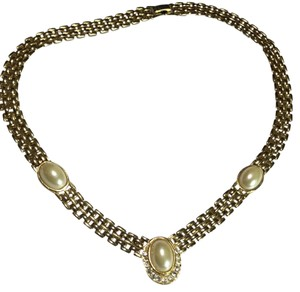 Other pearl gold tone vintage necklace