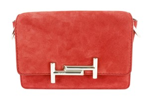 Tod's Women Leather Suede Cross Body Bag