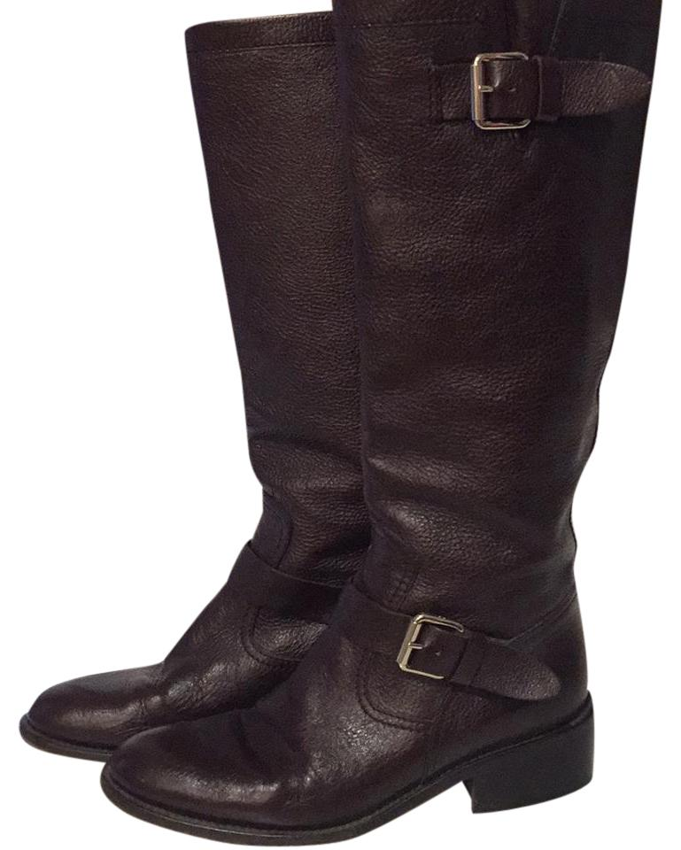 Women's Chocolate Dolce&Gabbana Chocolate Women's Brown Riding Boots/Booties On-line 382a37