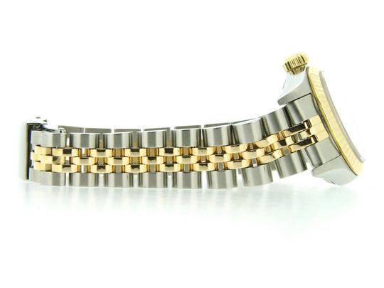 Rolex Ladies Rolex Two-Tone /SS Oyster Perpetual White Roman 67193 Image 1
