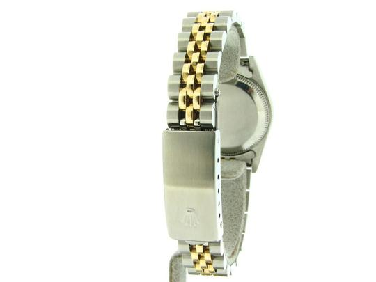 Rolex Ladies Rolex Two-Tone /SS Oyster Perpetual White Roman 67193 Image 3