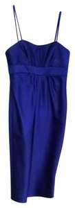 Alfred Angelo short dress Royal blue on Tradesy