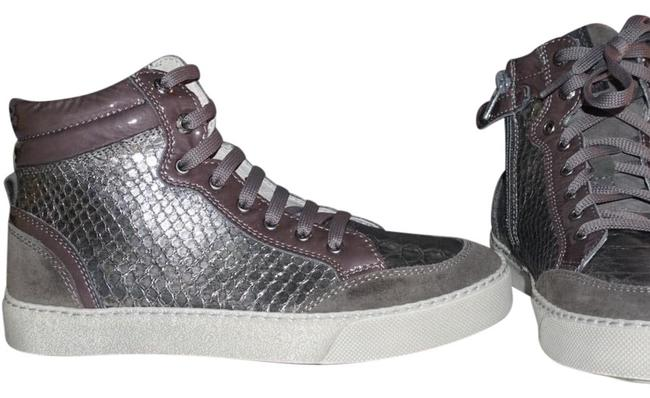 Item - Lilac Silver Gray Sneakers Size US 4 Regular (M, B)