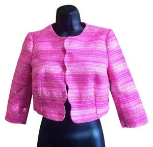 Lilly Pulitzer Boucle Hot Pink Jacket