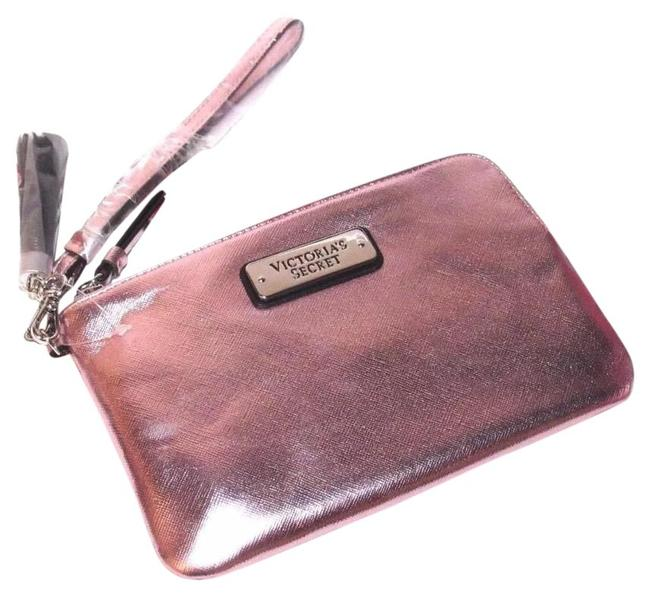 Item - 1 Metallic Pink Wristlet