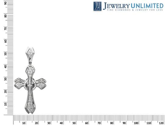 Other Genuine Diamond Raised Solitaire Cross Pendant (1.00Ct) 1.6