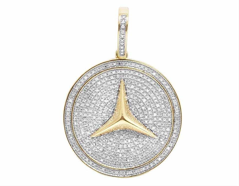 reserve platinum necklace pendant gold and kavels no inches diamond