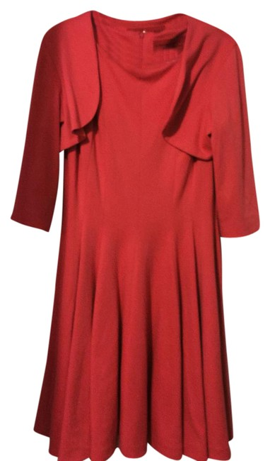 Item - American Red Collection Mid-length Formal Dress Size 12 (L)