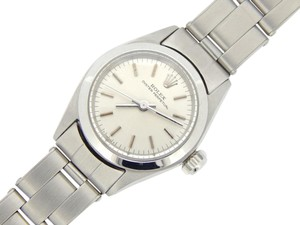 Rolex Ladies Rolex Stainless Steel Oyster Perpetual Silver 6618