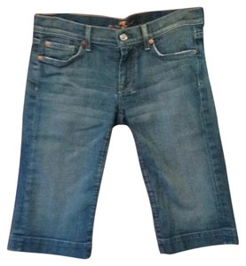 7 For All Mankind Capris blue jean