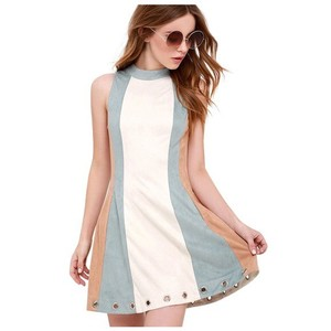 Other short dress Blue Cream on Tradesy