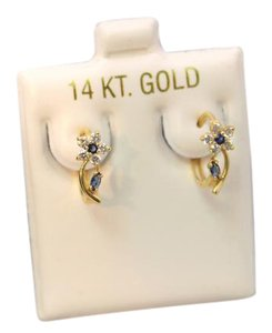 Other CZ 14KT Yellow Gold