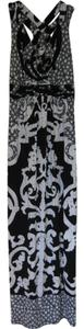 Black and White Maxi Dress by Soma Intimates Soma Summer Size 8 Strappy