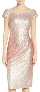 Vince Camuto Sequin Sheath Cocktail Dress
